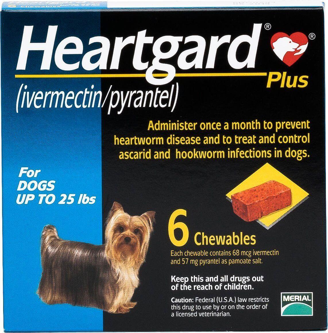 Heartgard Plus Blue Box
