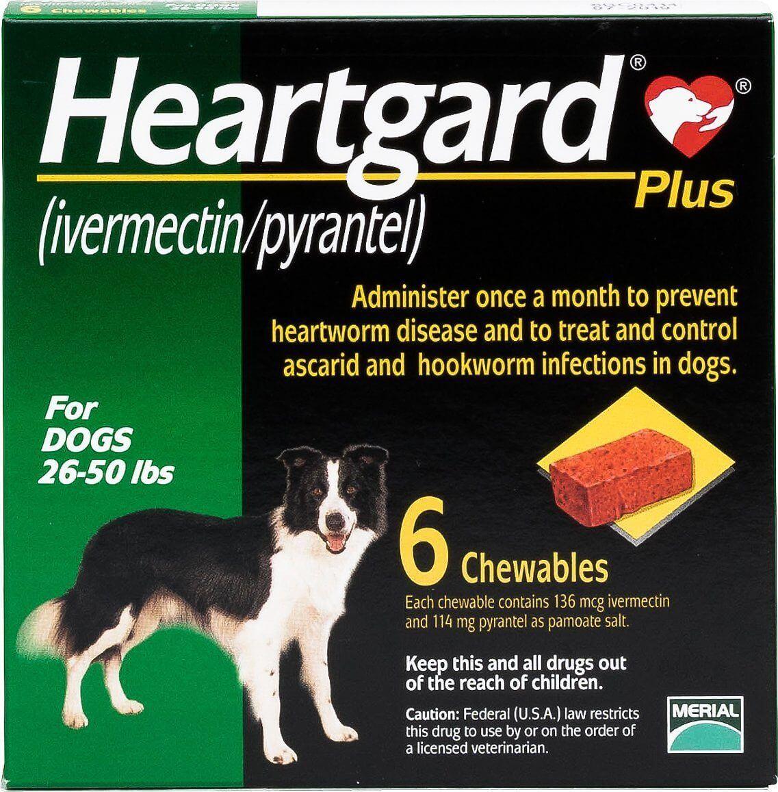 Heartgard Plus Green Box